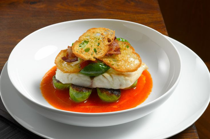 Striped Bass with Spicy Tomato Sauce