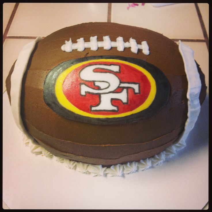 49er football cake