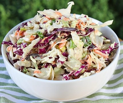 Sweet and Spicy Cole Slaw | delish | Pinterest