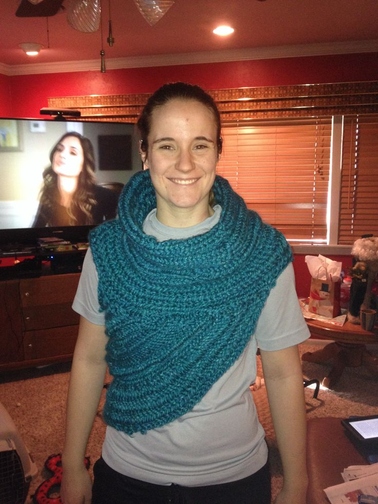 Katniss cowl i will change a few things on the next one i make