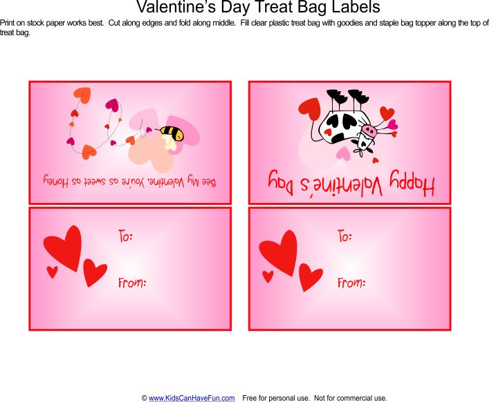 valentine's day treat bag ideas