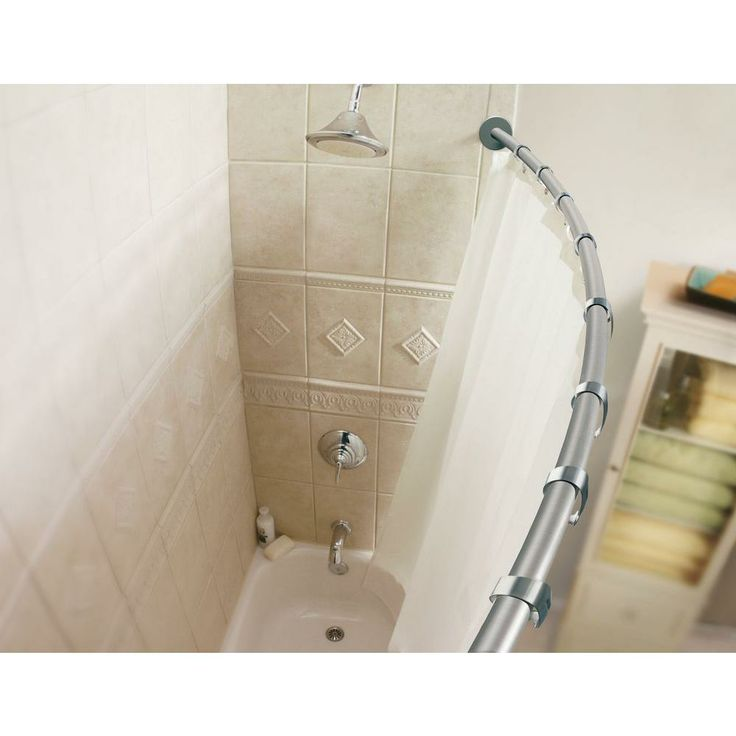 curved shower rod home depot best home design and bath bliss curved aluminum shower caddy white