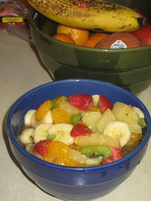 Fruit salad with honey lime dressing | Eat, drink and be merry! | Pin ...
