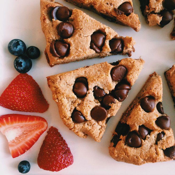 paleo chocolate chip scones #wholefoods#rawfoods#healthy#recipe# ...