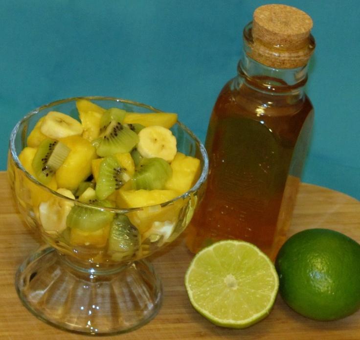 Honey Lime Dressing for Fruit Salad | Salad dressing and Dip recipes ...