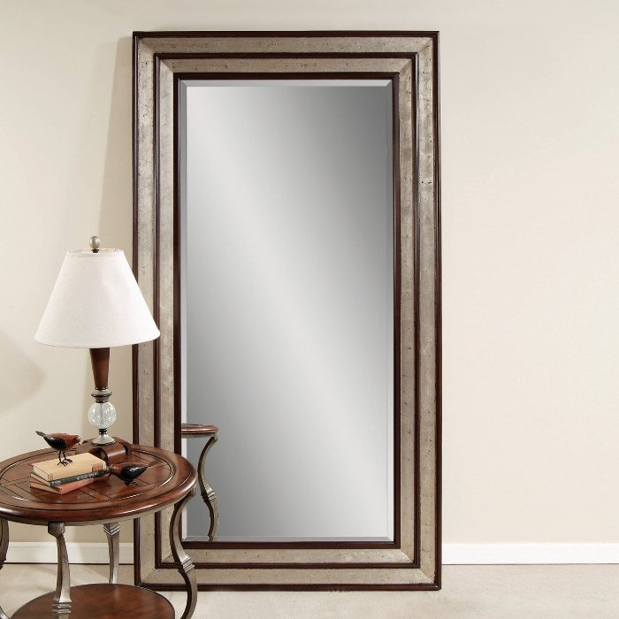 Standing floor mirrors mirrors pinterest for Mirror on the floor