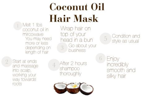 how to make a hair mask with coconut oil