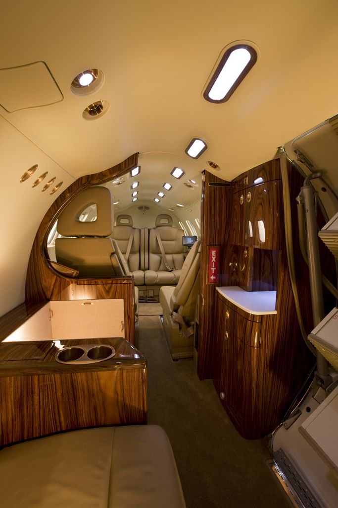 The SJ30 Private Jet Interior  Vehicular Dreams  Pinterest
