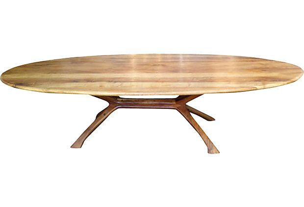 California Craftsman Dining Table I Adore Dining Tables With Inset