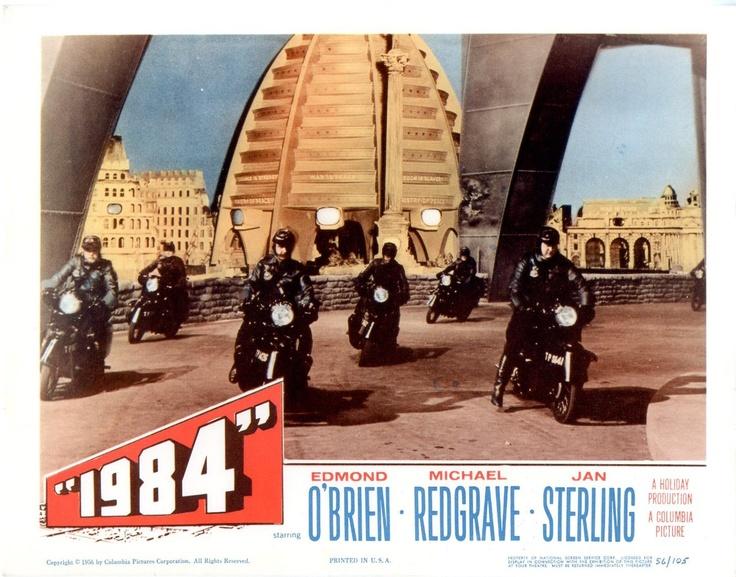 1984, US lobby card. 1956