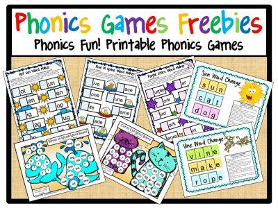 phonics games for kindergarten free online