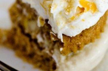 Maple Cinnamon Peach Ice Cream Cupcakes   Recipes To Make   Pinterest