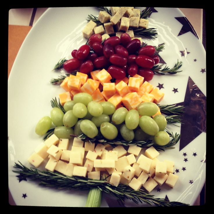 Christmas tree cheese appetizer food pinterest - Christmas tree shaped appetizers ...