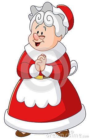 mrs claus by yael weiss via dreamstime christmas