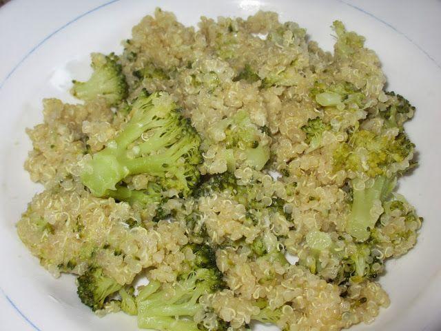 Quinoa con brócoli y queso | Mi recetario | Pinterest