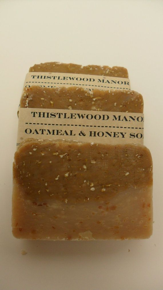 Oatmeal and Honey Soap by thistlewoodmanor on Etsy, $4.00 The best ...