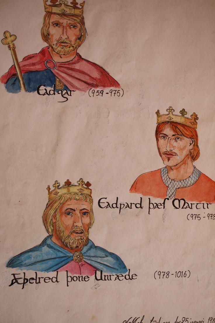 736 x 1104 jpeg 93kB, Three Anglo-Saxon kings   Paintings and Drawings ...