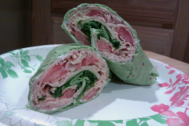 ... ham fresh spinach leaves swiss cheese tomatoes amp yogurt in a spinach