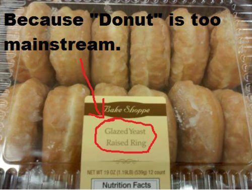 Hipster Donut