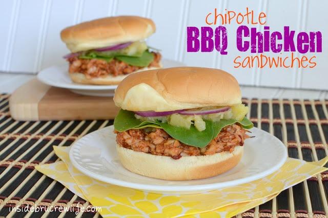 Chipotle BBQ Chicken Sandwiches | Recipe