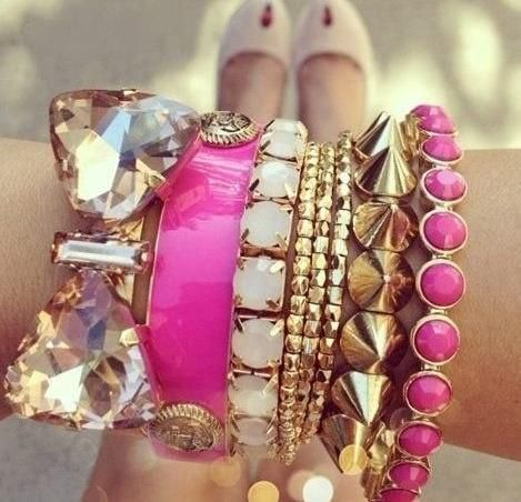 #armparty with Lilly Pulitzer Spring '13 Cute as Button Bangle