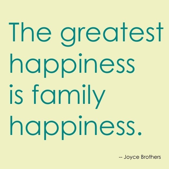 Quote About Happiness And Family Family Happiness Quote...