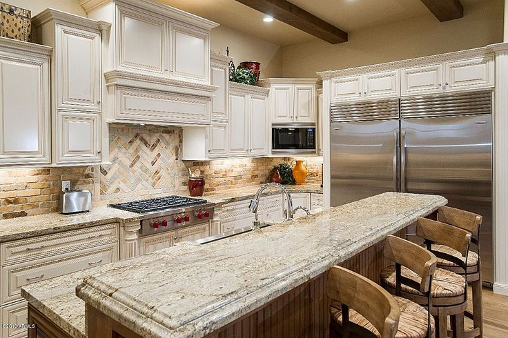 Pinterest discover and save creative ideas for Dark cabinets light granite