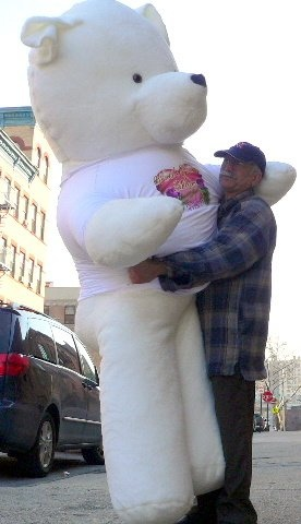 3 foot teddy bear for valentine's day