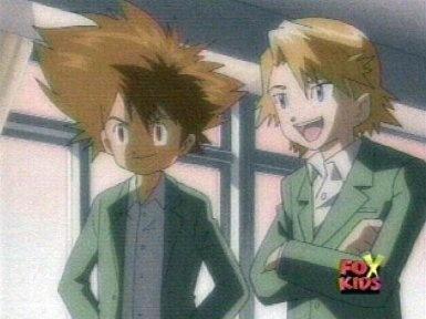 Digimon - Tai/Mat - series and movie