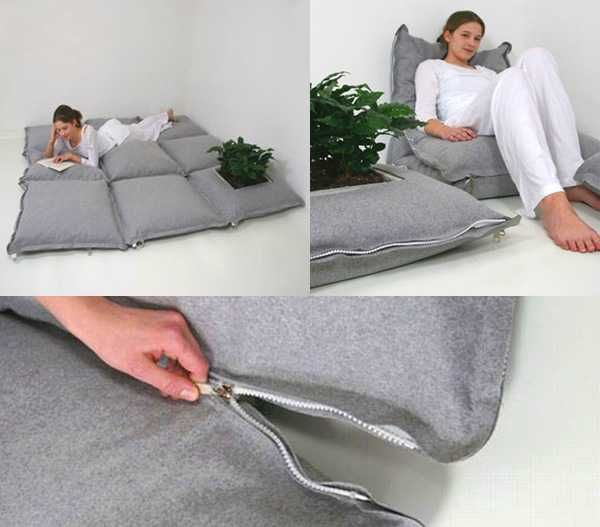 Dress womens clothing: Large floor cushions