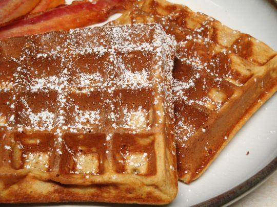 Gingerbread Waffles | Breakfast Recipes | Pinterest