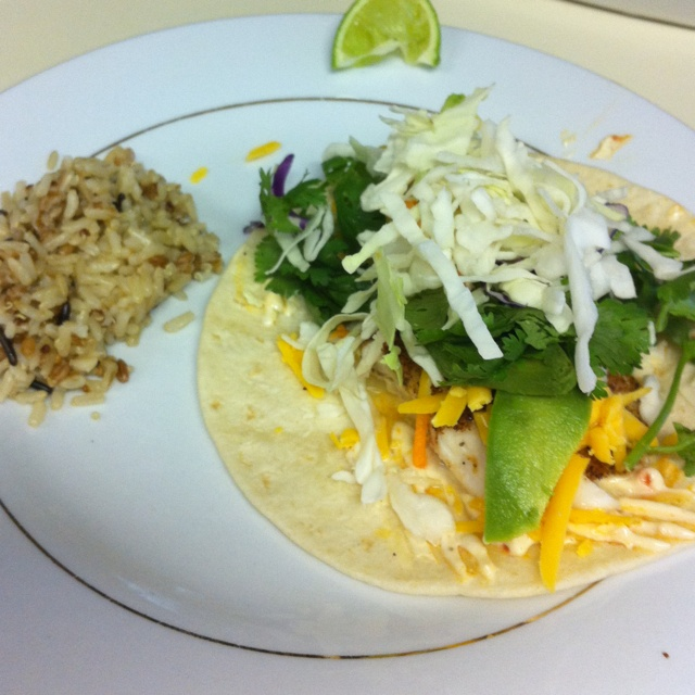 Tilapia Fish Tacos Recipe — Dishmaps