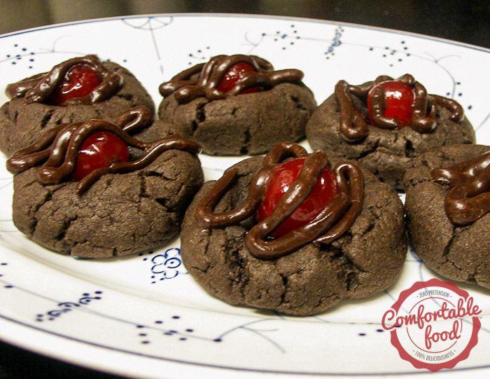 Chocolate Covered Cherry Cookies II Recipe — Dishmaps