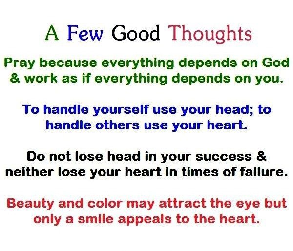 Few Good Thoughts | Quotes | Pinterest