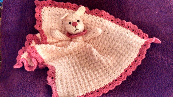 Free Crochet Pattern Huggy Blanket : Bunny Huggy Blanket Pattern on Craftsy Crochet Ideas ...