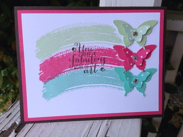 Work Of Art from Stampin' Up! demo Julie Douglas - Stamp Your Dream Designs