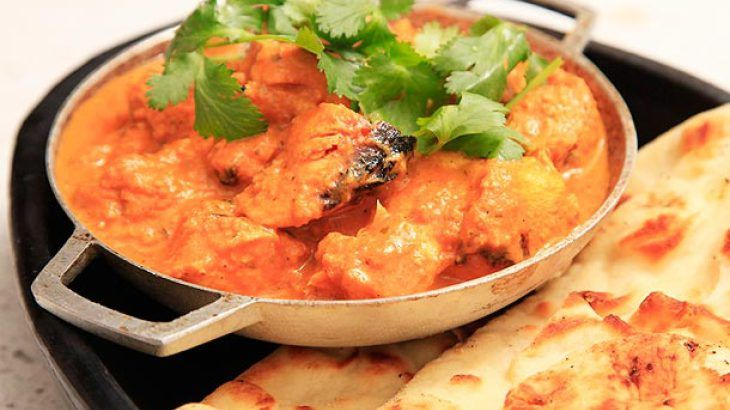 ... tikka masala chicken tikka masala and cumin scented green peas pulao