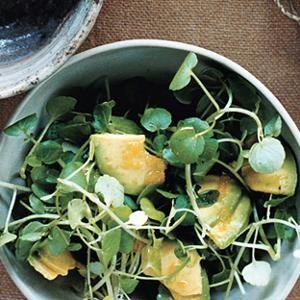 Avocado and Watercress Salad from Epicurious, found @Edamam!