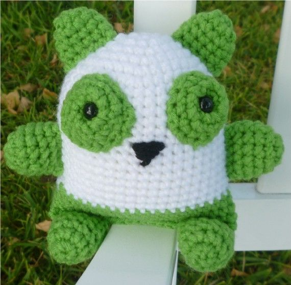 Amigurumi Panda Bear Animal Doll Crochet Pattern Free ...