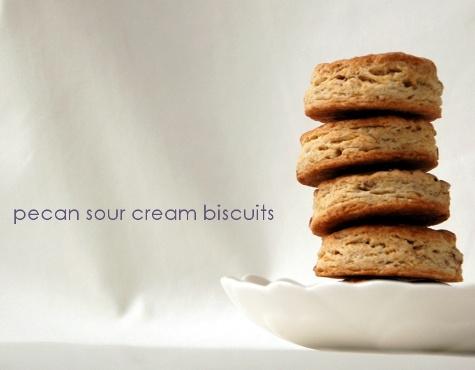 Pecan Sour Cream Biscuits | Baking | Pinterest