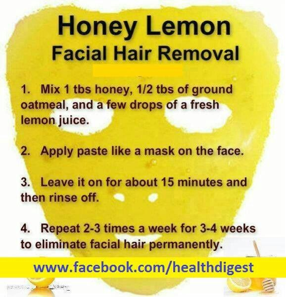 Home Remedies to Remove Unwanted Hair Permanently