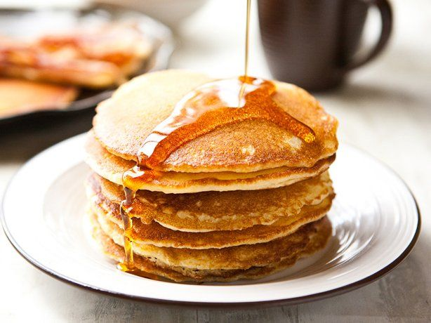 Cornmeal Pancakes Recipe | Breakfast | Pinterest