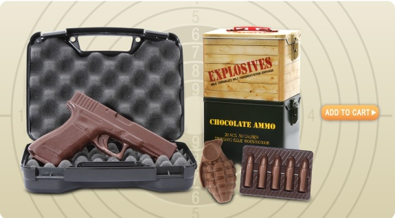 chocolate shotgun shells