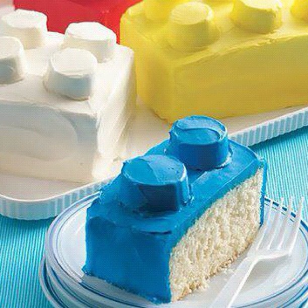 Building Blocks Cake! | Recipes - Cakes | Pinterest