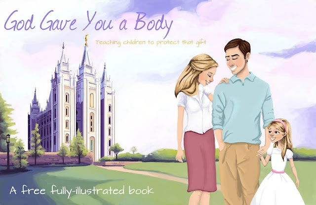 Teaching Children to Protect their Bodies...Download this free, fully-illustrated children's book!    by Jocelyn Christensen of http://beinglds.blogspot.com