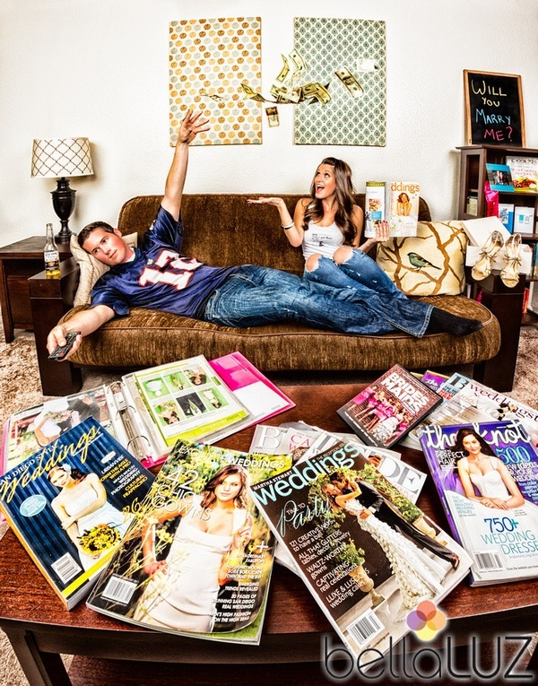 This is exactly what is happening at our house right now lol cute idea for save the date pic