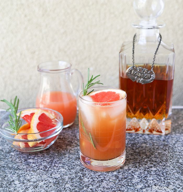 Muddled Honey and Grapefruit Cocktail | Eat and Drink! | Pinterest