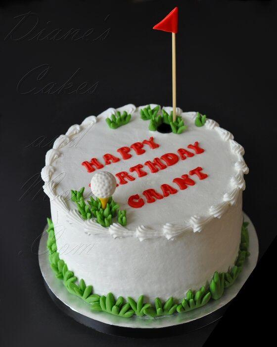 Golf-Themed Birthday Cake Cake Ideas....Sweet!!! Pinterest