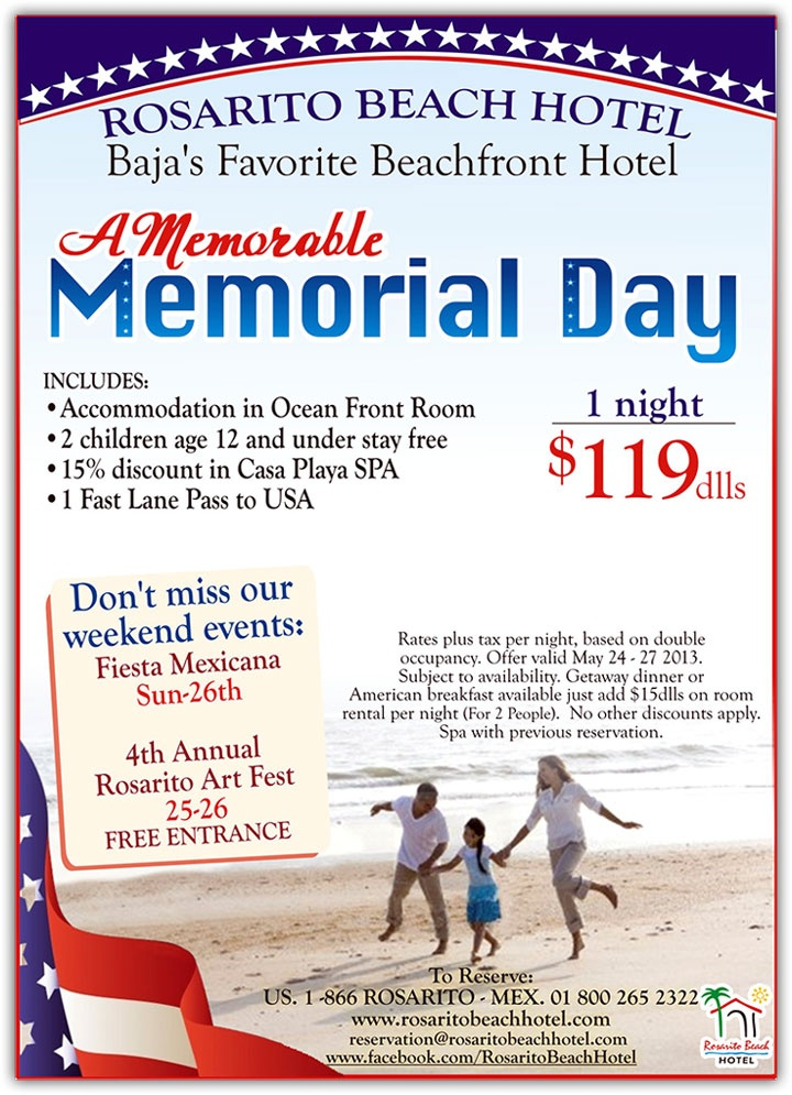 memorial day beach events