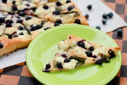 Blueberry Ricotta Pizza | Tasty Kitchen: A Happy Recipe Community!